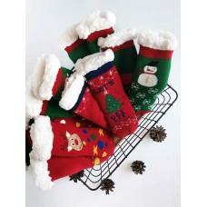 Новогодние носки в ассортименте (-23495)